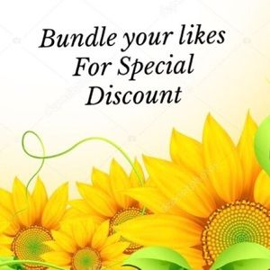 BUNDLE YOUR LIKES FOR SPECIAL DISCOUNT OFFER